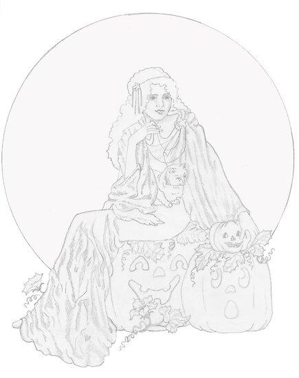 Pumpkin Patch by redqueenself