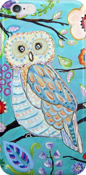 Owl pattern by nakeciawinona