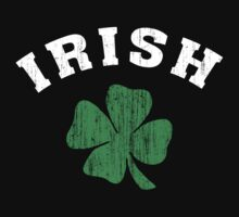 Vintage Irish Shamrock by HolidayT-Shirts
