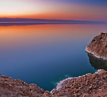 Dead Sea Sunset by Louis Tsai