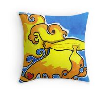 Betta Luv Throw Pillow
