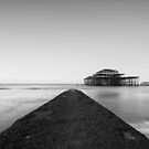 Brighton Beach West Pier by cedarsphoto