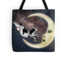 The Cow Jumped Over The Moon Tote Bag