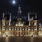 Hotel de Ville, Paris, France, Large and Wide Fine Art Print by fine-art-prints