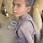 child sculptor by Samir Ray