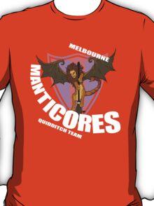 Official Melbourne Manticores Quidditch Shirt T-Shirt