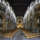 Nave, Rochester Cathedral, Kent, England by Bob Culshaw