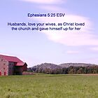 Husbands love your wives as Christ loved the Church  by Penny Rinker