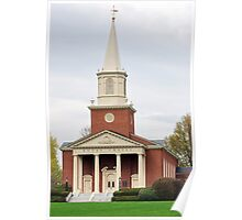 Chapel at Bucknell University Poster