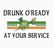 Irish Drunk by HolidayT-Shirts