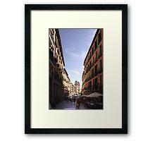 Calle de Toledo Framed Print