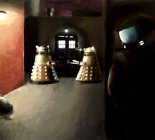 The Dark Dalek Night by Matt Morrow