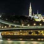 Budapest at Night by Jacinthe Brault