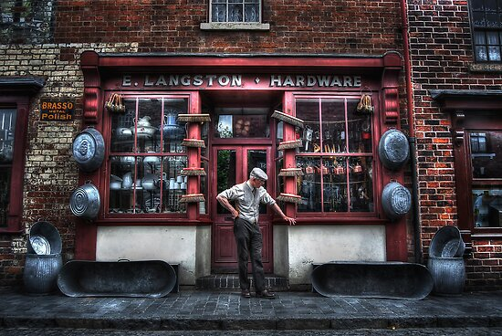 Mr Langston's Hardware Shop by Yhun Suarez