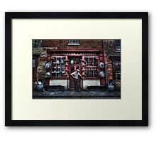 Mr Langston's Hardware Shop Framed Print
