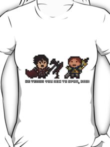 Pixel Spin Brothers T-Shirt