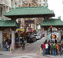 San Francisco China Town by Sarah Slapper