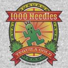 1,000 Needles Cactuar Fruit Tequila by Josh Legendre