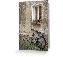 Passau: The Bicycle Greeting Card