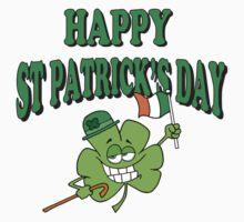 Happy Saint Patrick's Day Kids Clothes