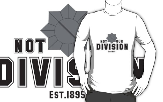 Not My Division. by cucumberpatchx