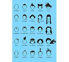 Hero Hair Photographic Print