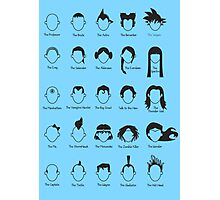 Hero Hair Photographic Print