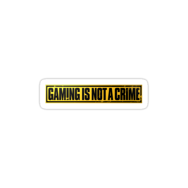 Gaming is Not a Crime by eelectro11