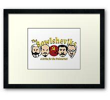 The Bowlsheviks (A Strike for the Proletariat!)  Framed Print