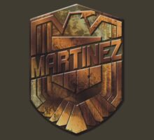 Custom Dredd Badge Shirt - Pocket - (Martinez)  by CallsignShirts
