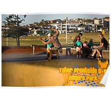 Tater Frontside 5-0 Shallow End Poster