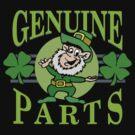 Genuine Irish Parts by HolidayT-Shirts