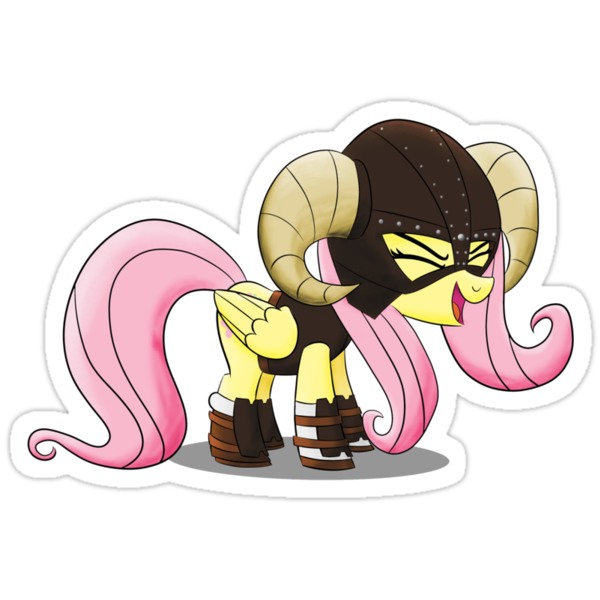 Fluttershy is the D'awwvahkiin (My Little Pony: Friendship is Magic) by broniesunite