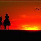 The Setting Sun by Richard  Gerhard