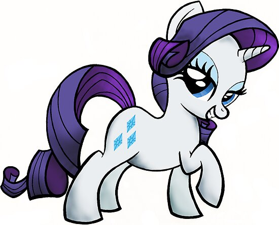Rarity is FABULOUS (My Little Pony: Friendship is Magic) by broniesunite