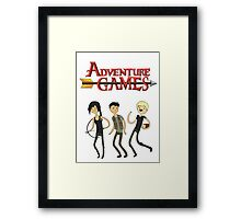 Adventure Games Framed Print