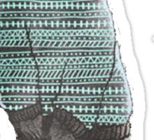 Sweater Bear Sticker