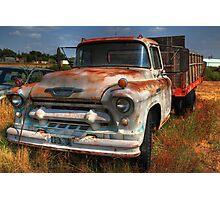 Rusty Chevrolet Photographic Print