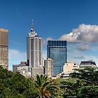 Melbourne Panorama by Lucas D'Arcy