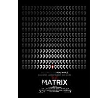 Minimalist Poster : Matrix Photographic Print
