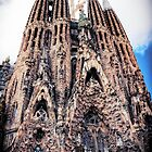 La Baslica de la Sagrada Famlia, Barcelona by Wendy  Rauw