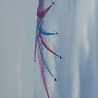 Red Arrows Starburst by Giorgio Elesaro