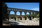 Pont du Gard - Bridge of the Gard by Roberta Angiolani