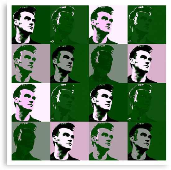 Morrissey vs Warhol (The Queen Is Dead) by PheromoneFiend