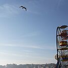 The Big Wheel  - Scarborough by Richard Flint