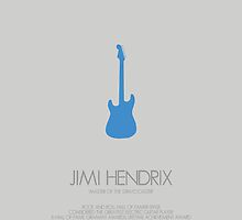 JIMI HENDRIX - The 'Master of the Stratocaster' by Mark Hyland