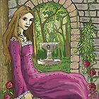 Marie in the Secret Garden by James Battersby