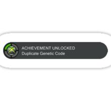 Acheivement unlocked - Duplicate Genetic Code Sticker