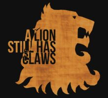 A Lion Still Has Claws Kids Clothes
