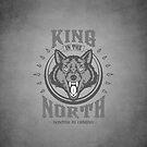 King In The North iPhone Case by liquidsouldes